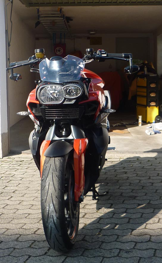 Bmw k for Spiegel unten motorrad